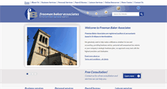 Preview of freemanbaker.co.uk